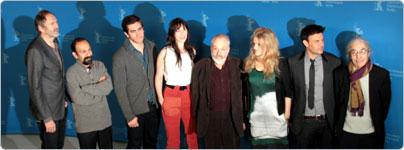 Die Berlinale-Jury 2012