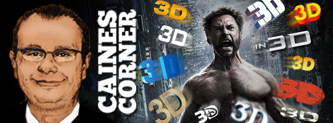 Caines Corner: The End of 3D