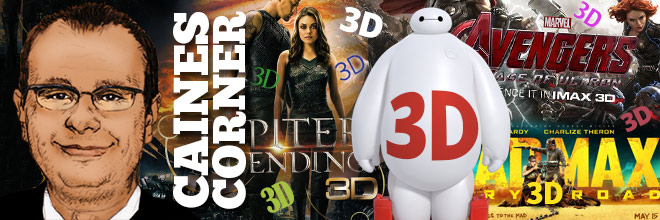 Caines Corner: Who still needs unnecessary 3D?