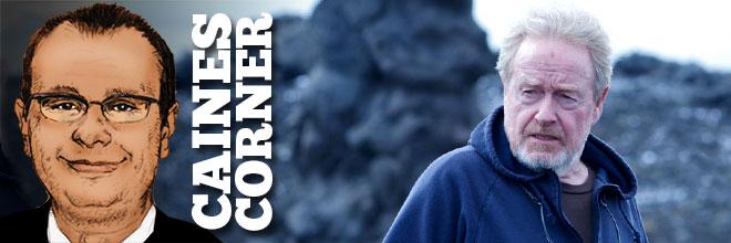 Caines Corner: Ridley Scott