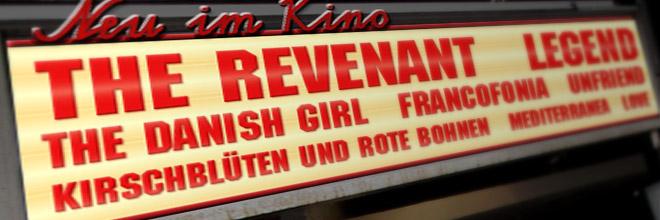Neu im Kino: Woche 01/2016