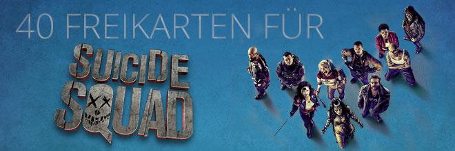 40 Freikarten für Suicide Squad