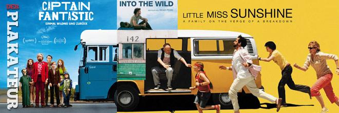 Der Plakateur: On the bus