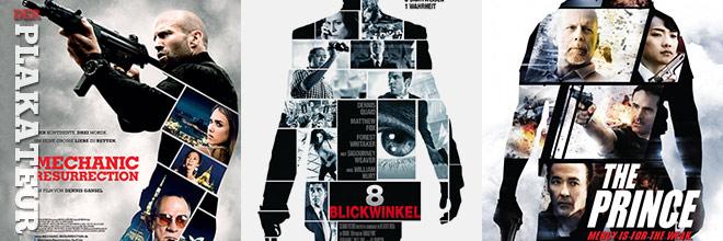 Der Plakateur: Jason Statham und zerschnittene Menschen