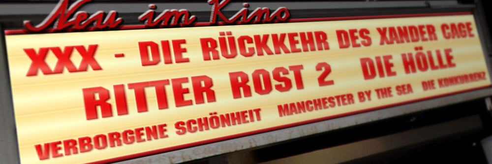 Neu im Kino (KW 03/2017)