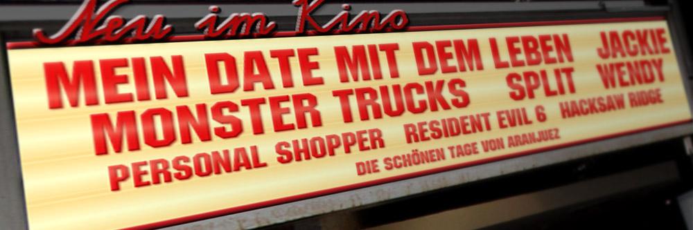 Neu im Kino (KW 04/2017)
