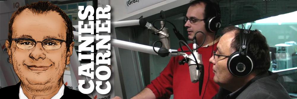 Caines Corner: In Memoriam Nikos Grigoriadis