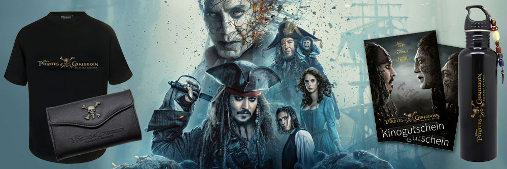 >Pirates of the Caribbean 5 - Das Uncut-Quiz