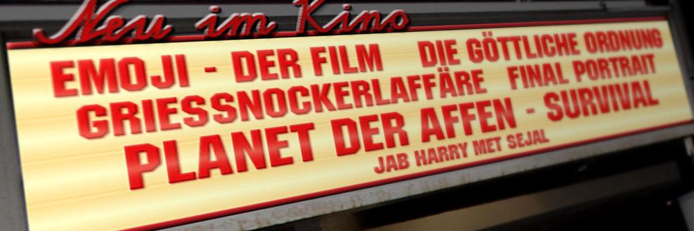 Neu im Kino (KW 31/2017)