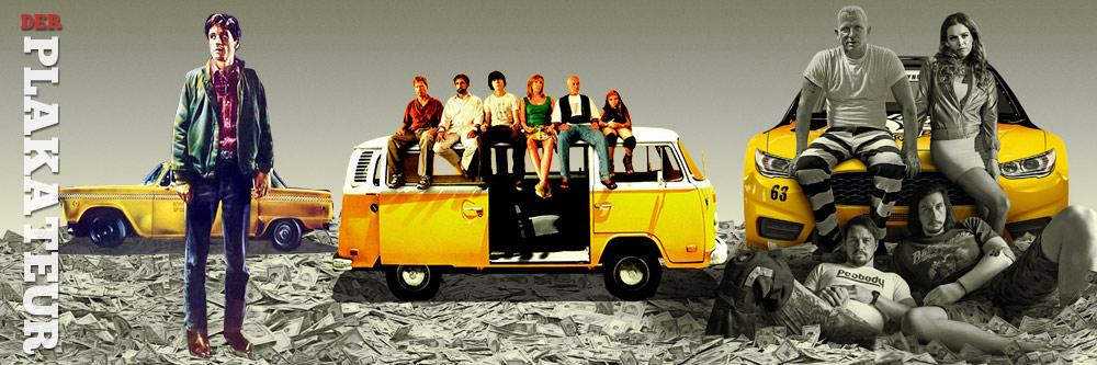 Der Plakateur: Gelbe Autos