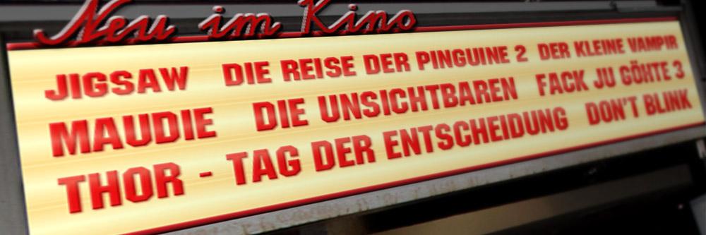 Neu im Kino (KW 43/2017)