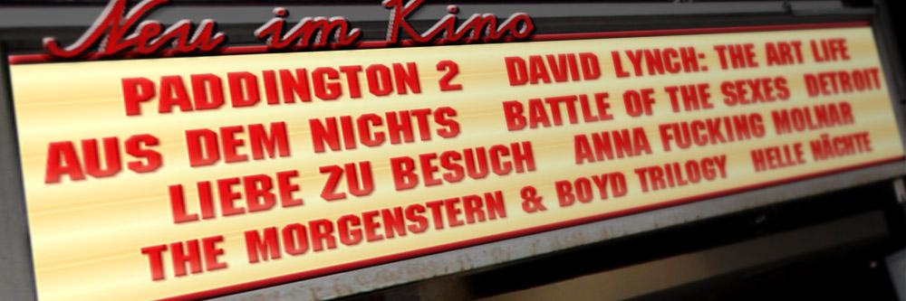 Neu im Kino (KW 47/2017)
