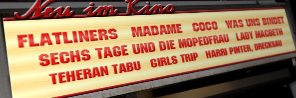 Neu im Kino (KW 48/2017)