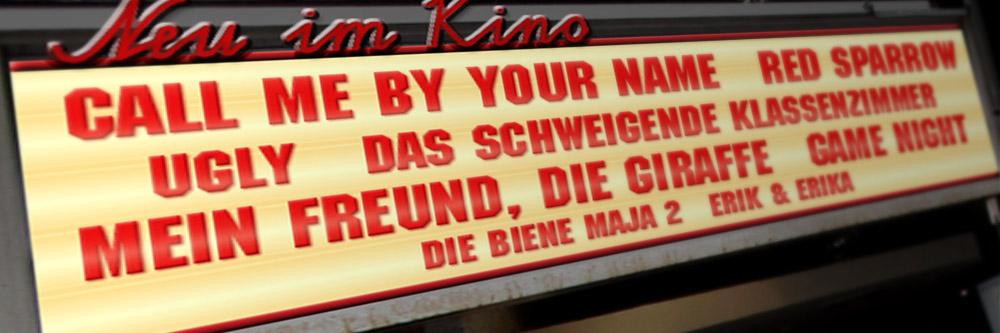 Neu im Kino (KW 09/2018)
