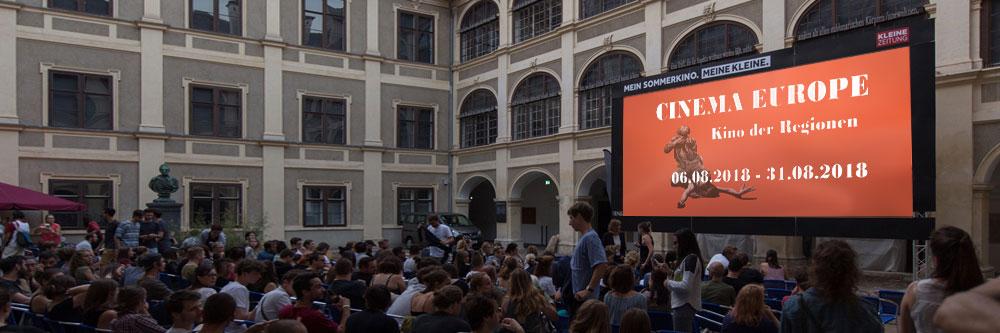 Cinema Europe - Open Air im Lesliehof