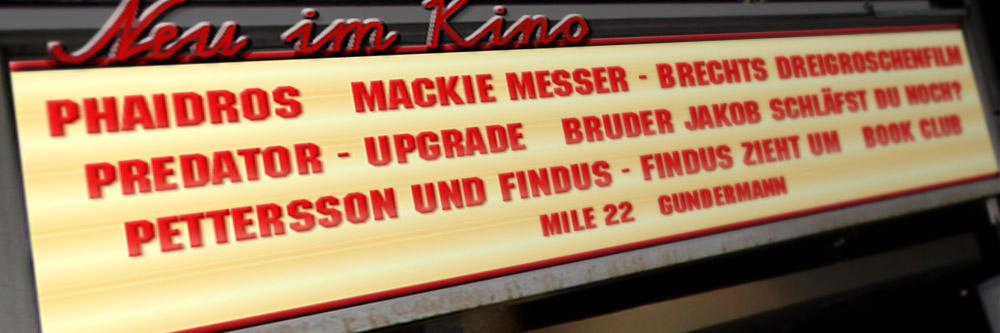Neu im Kino (KW 37/2018)