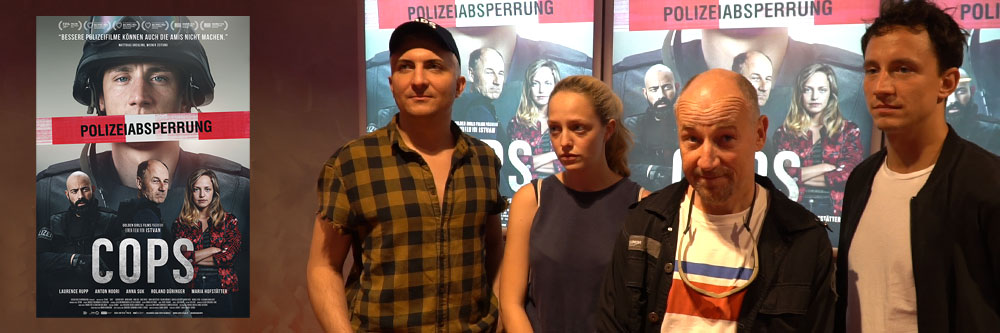 """Interview mit dem Filmteam von """"Cops"""""""