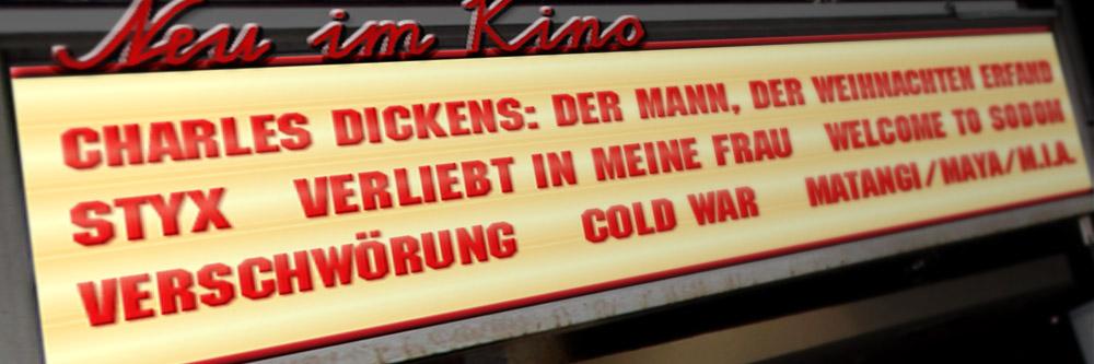 Neu im Kino (KW 47/2018)