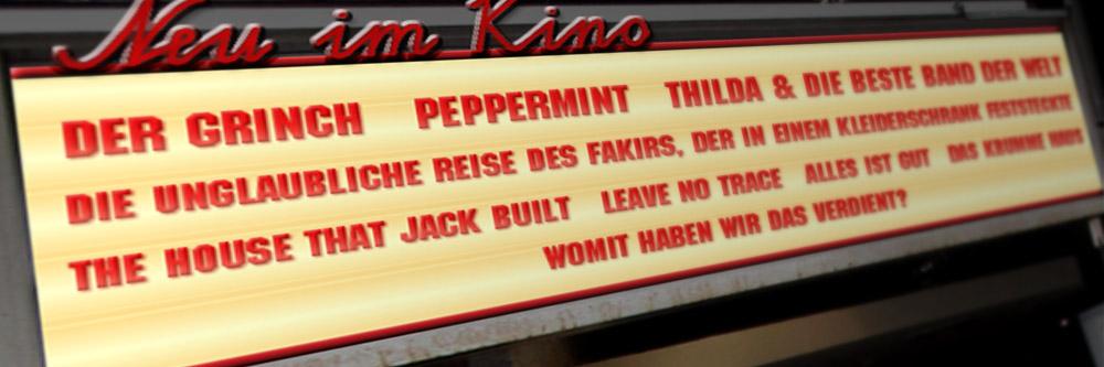 Neu im Kino (KW 48/2018)