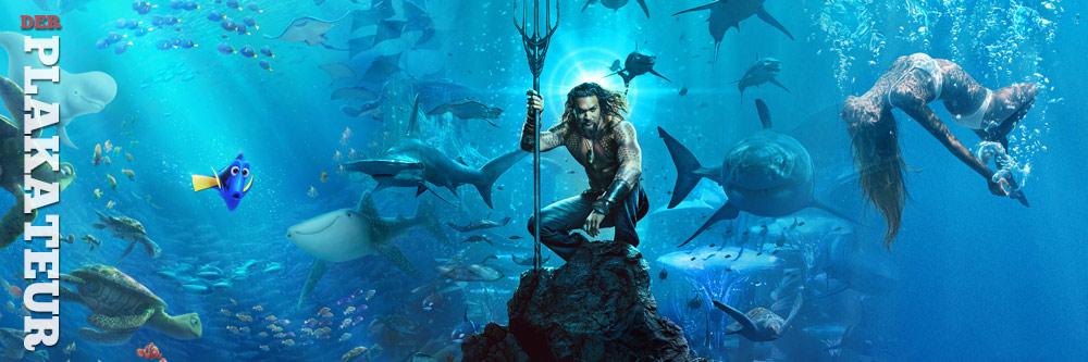 Der Plakateur: Aquaman und Unterwasserrätsel