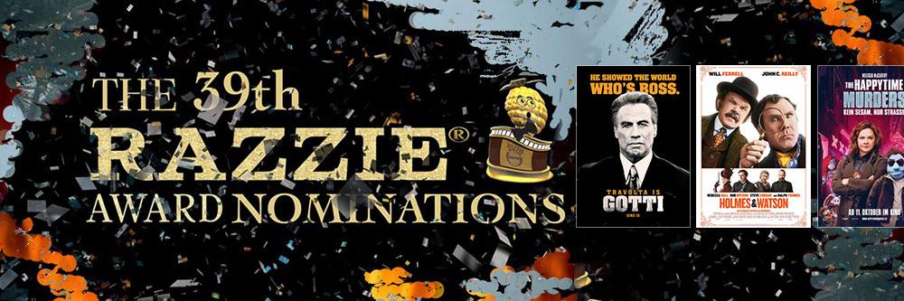 Die Nominierungen für die Goldene Himbeere 2019