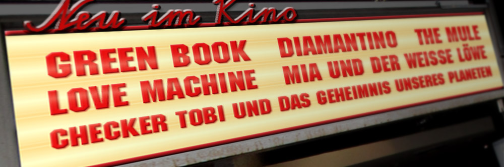 Neu im Kino (KW 05/2019)