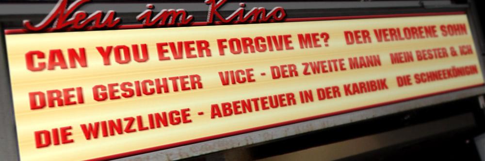 Neu im Kino (KW 08/2019)