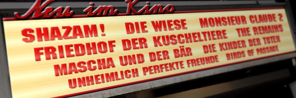 Neu im Kino (KW 14/2019)