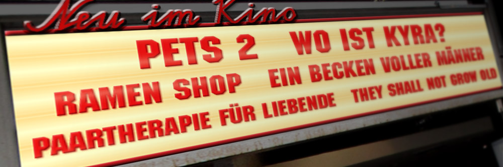 Neu im Kino (KW 26/2019)