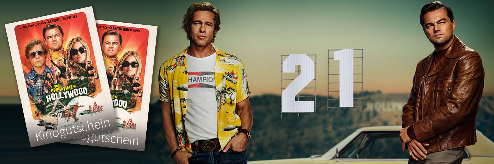 """10 Freikarten für """"Once Upon a Time in Hollywood"""""""