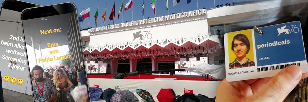 Uncut bei den Filmfestspielen von Venedig