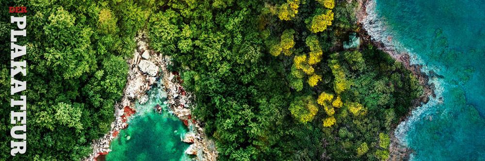 Der Plakateur: Fantasy Island Lake Placid