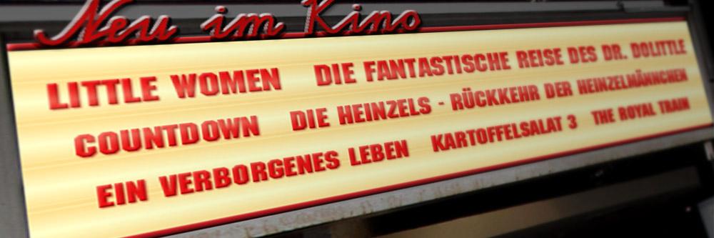 Neu im Kino (KW 05/2020)