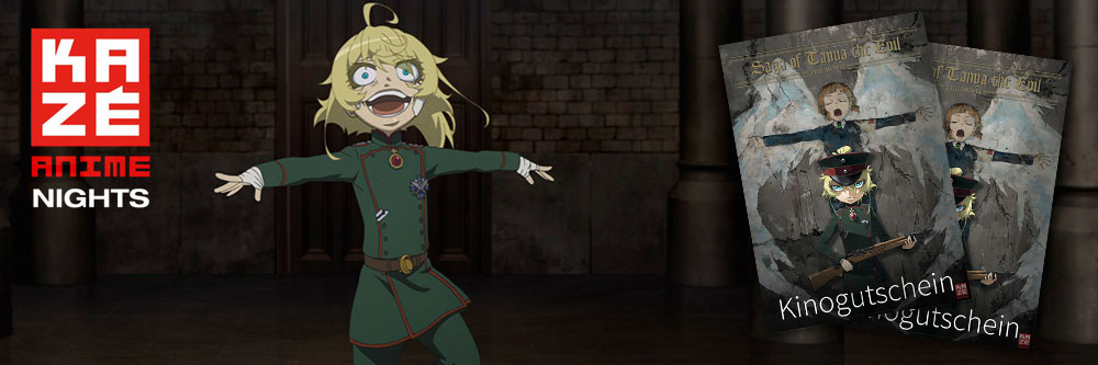 "Anime Night mit ""Saga of Tanya the Evil"""