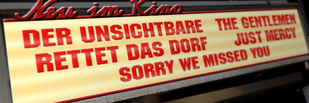 Neu im Kino (KW 09/2020)