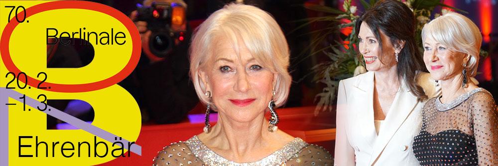 Ein Ehrenbär für Helen Mirren