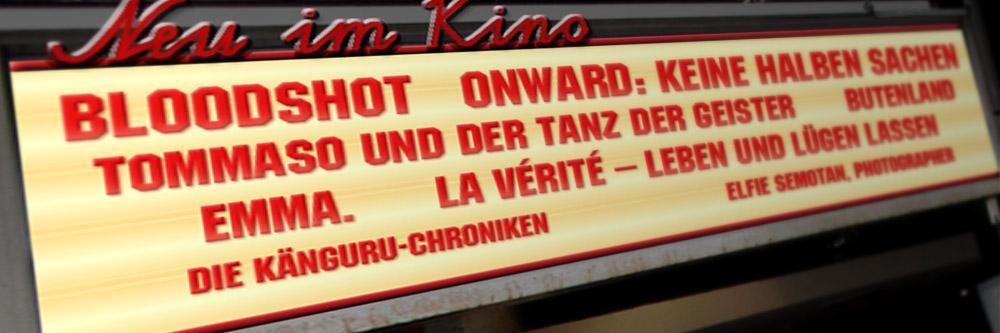 Neu im Kino (KW 10/2020)