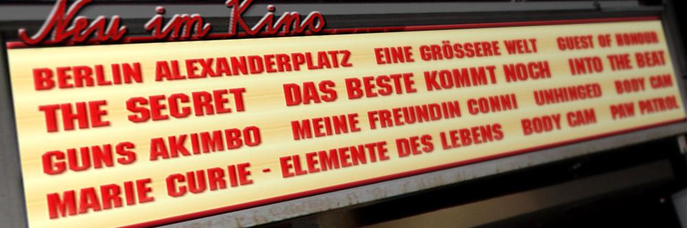 Neu im Kino (Woche 32/2020)