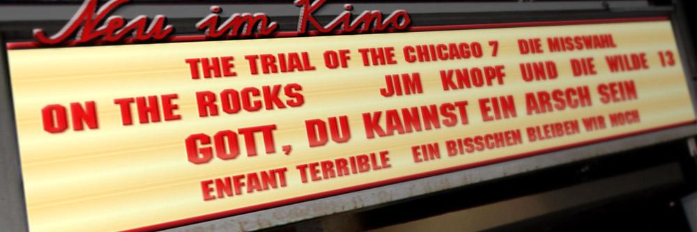Neu im Kino (Woche 40/2020)