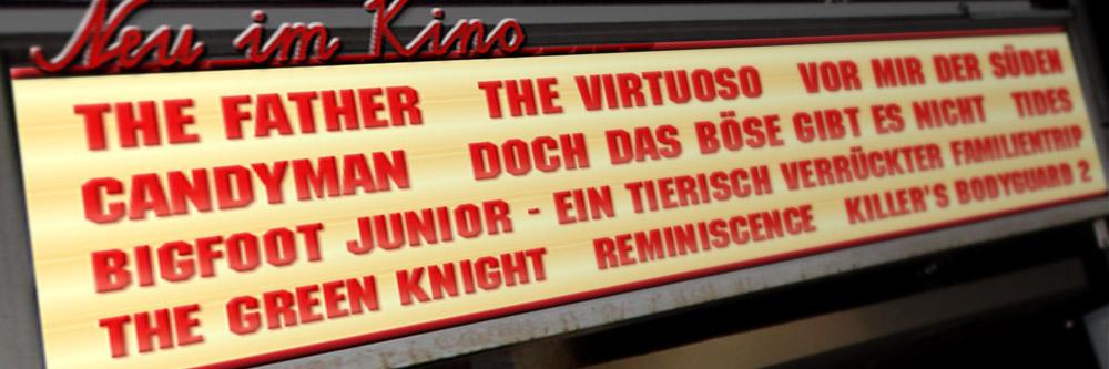Neu im Kino (Woche 34/2021)