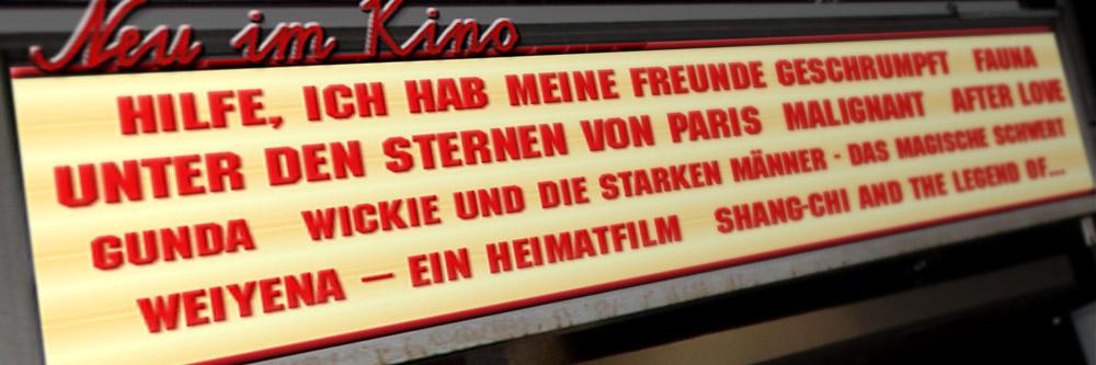 Neu im Kino (Woche 35/2021)