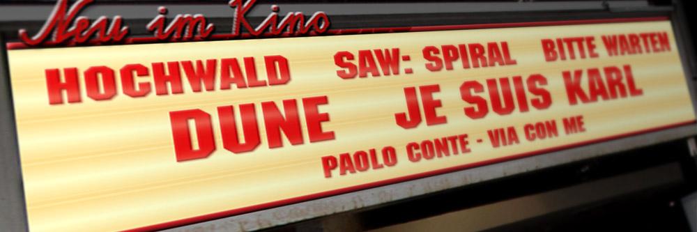 Neu im Kino (Woche 37/2021)