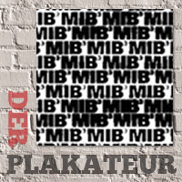 Der Plakateur: Text in Black