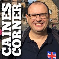 Caines Corner: Back in the UK
