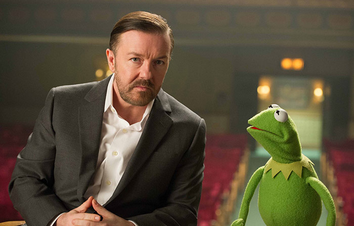 Szenenbild aus dem Film Muppets Most Wanted