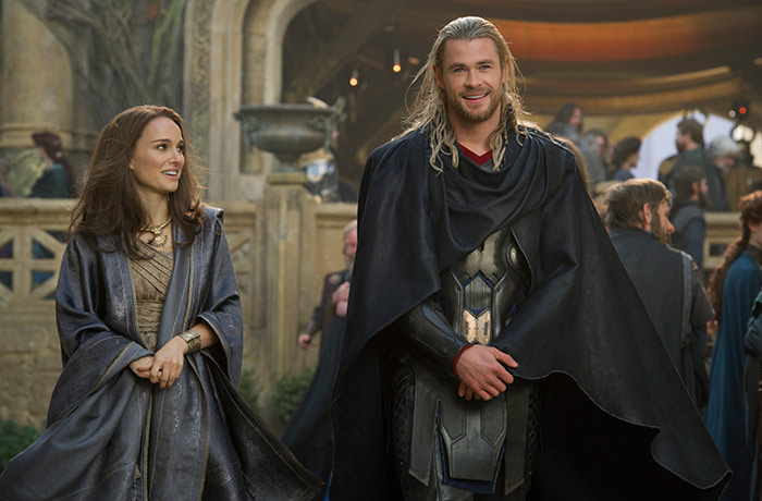Szenenbild aus dem Film Thor: The Dark Kingdom
