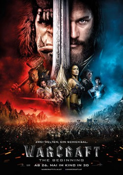 Filmplakat zu Warcraft -  The Beginning