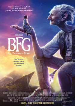 Filmplakat zu BFG - Big Friendly Giant