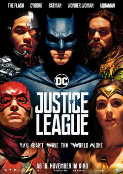 Filmplakat zu Justice League