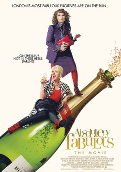 Filmplakat zu Absolutely Fabulous - Der Film
